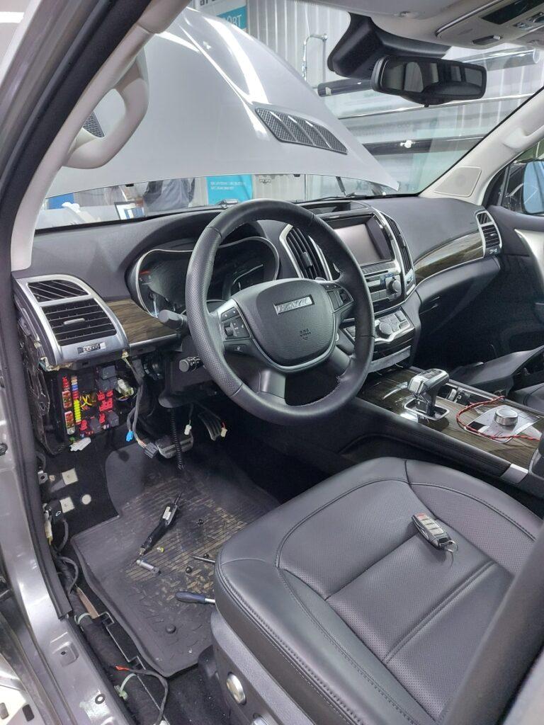 Установка автосигнализации Pandect X-1800 L на Haval H9