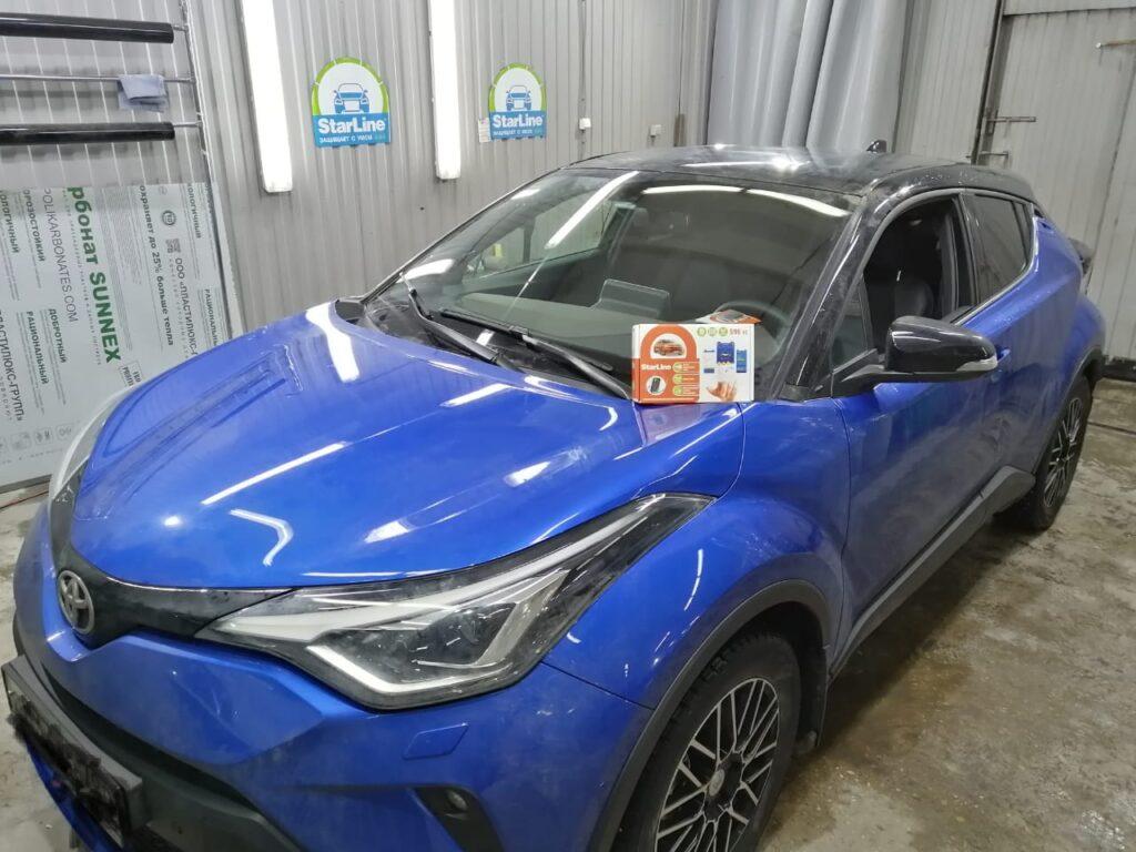 Установка автосигнализации StarLine S96 v2 на Toyota C-HR