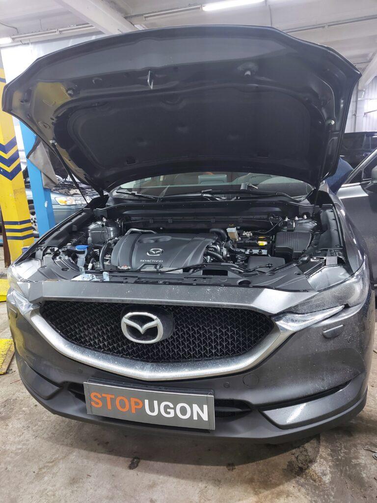 Установка автосигнализации Pandora на Mazda CX-5 2020 г.