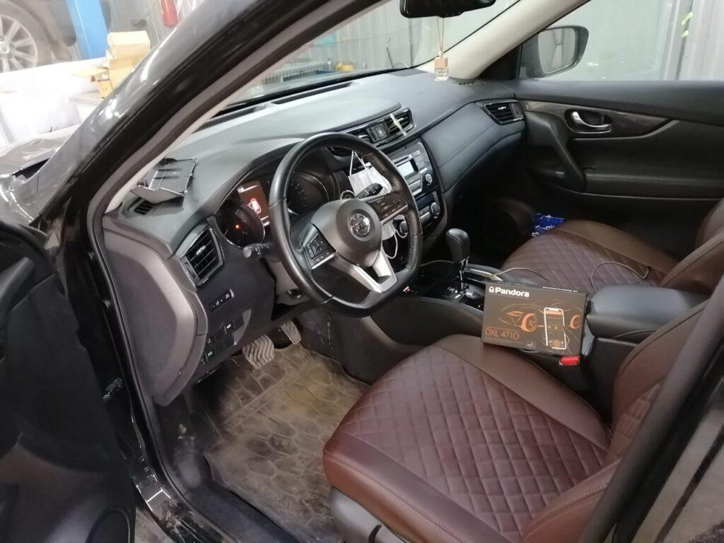 Автосигнализация Pandora DXL 4710 на Nissan X-Trail
